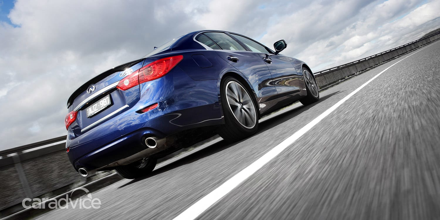 q50 infiniti turbo twin specs 298kw pricing v6 tops updated line caradvice