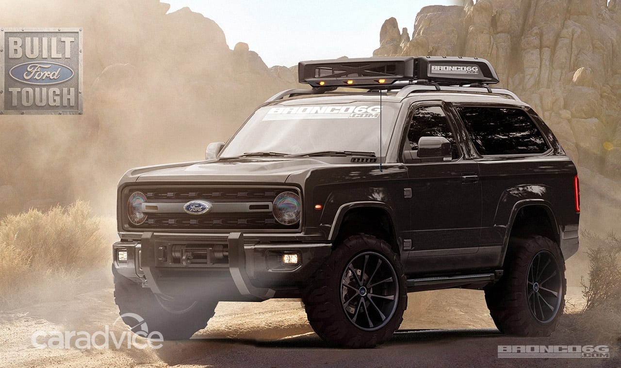 Ford Bronco is coming back in 2018 | CarAdvice
