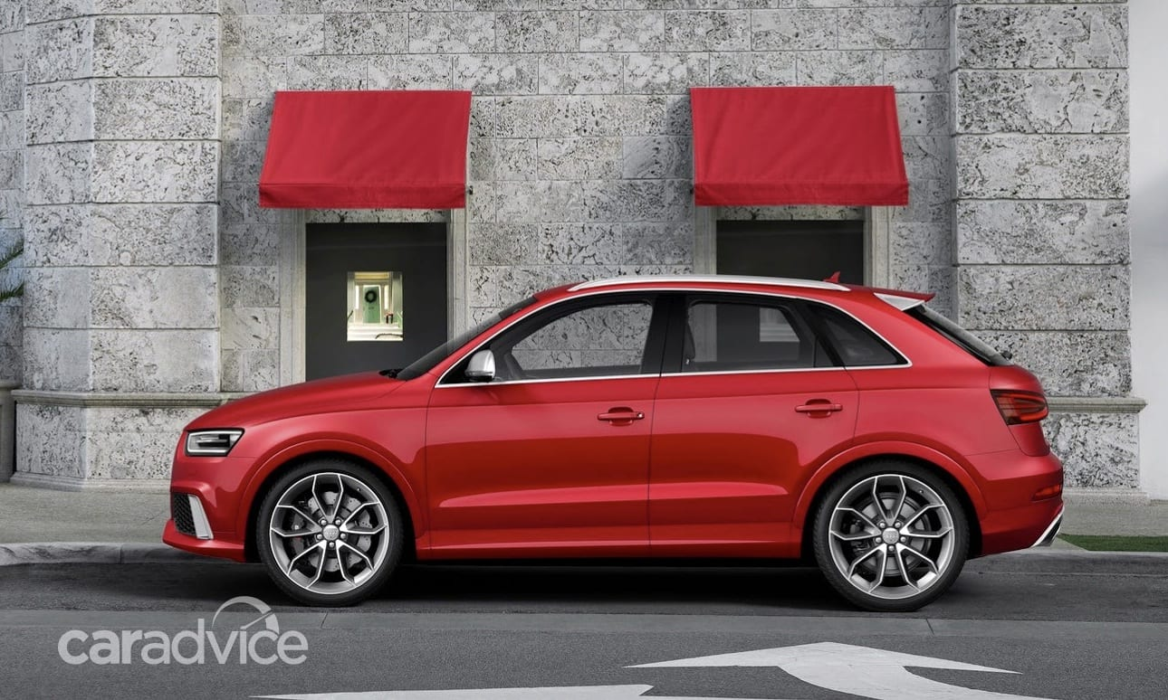 audi rsq3  first rs suv to wear sub