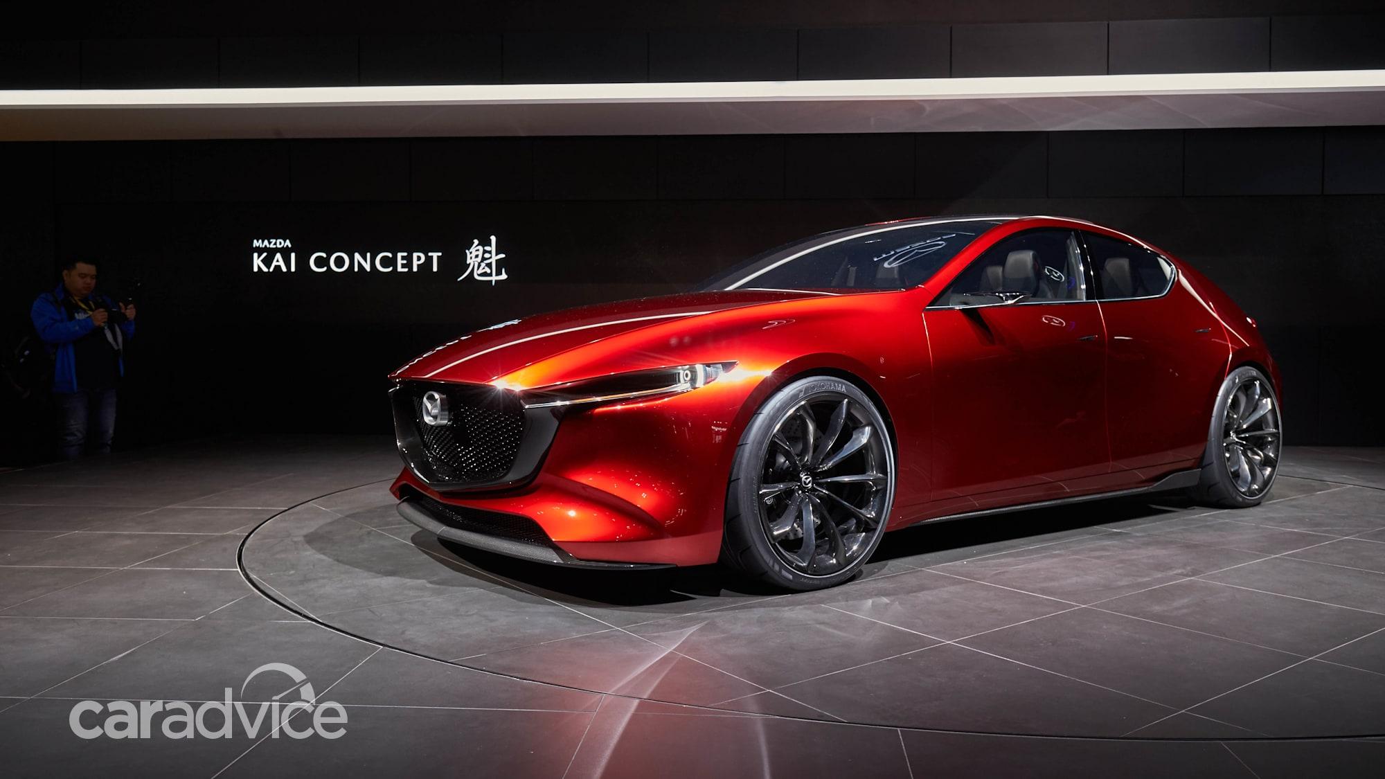 mazda kai concept previews 2019 mazda 3  caradvice