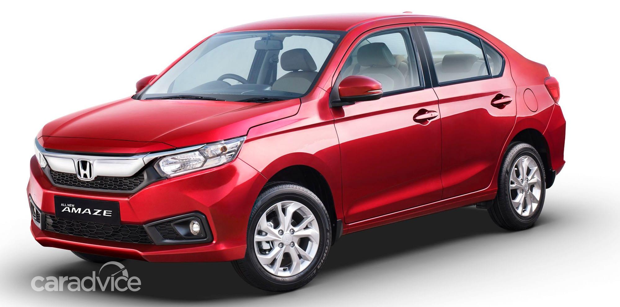 2018 Honda Amaze unveiled in India | CarAdvice