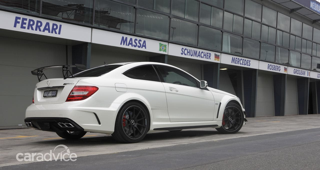 Mercedes-Benz C63 AMG Coupe Black Series unleashed | CarAdvice