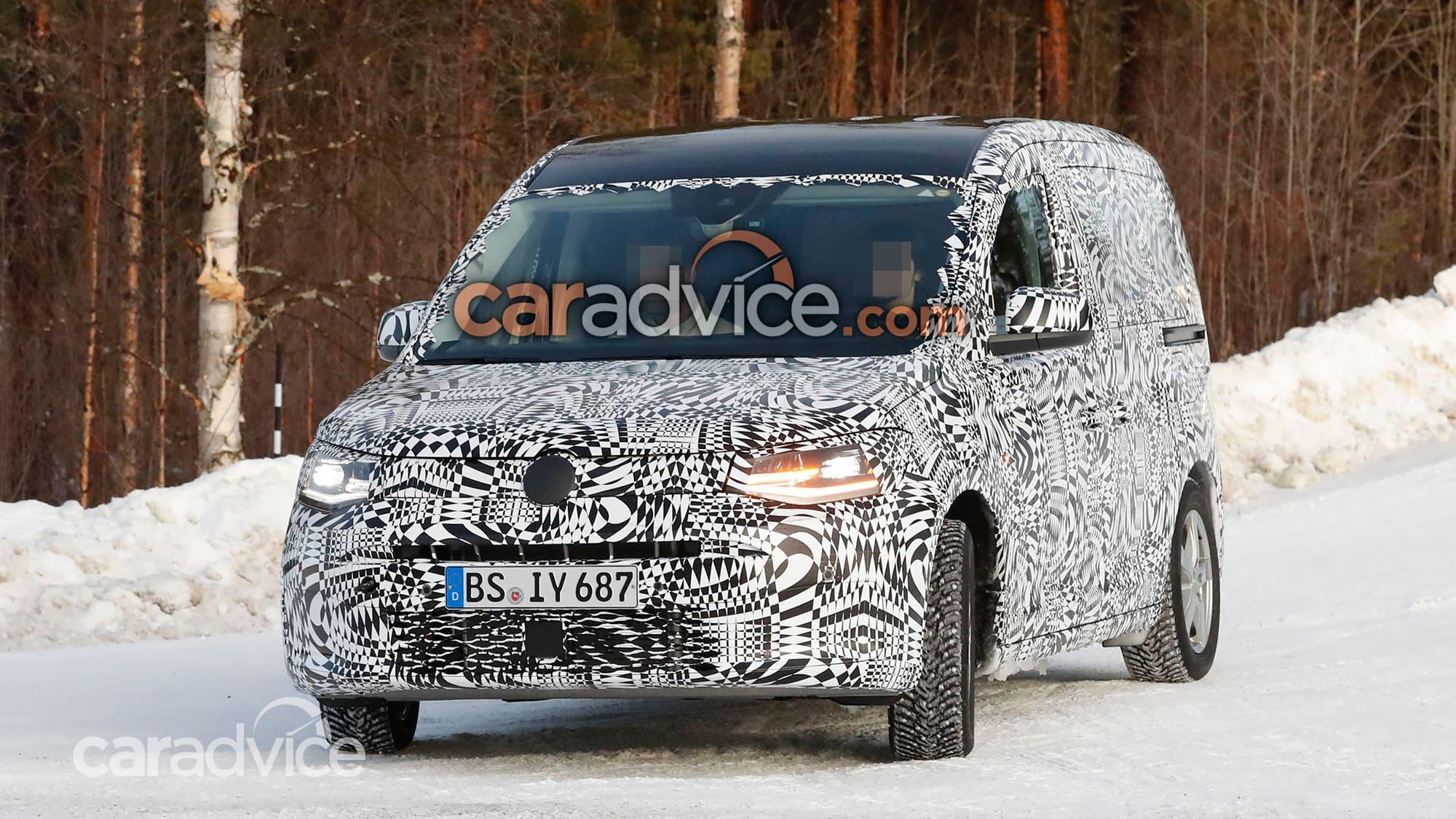 2021 Volkswagen Caddy interior spied | CarAdvice