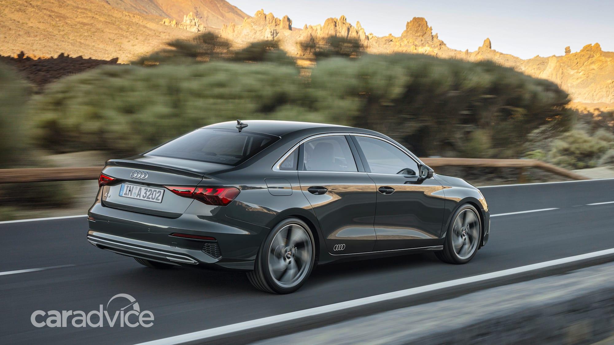 2021 Audi A3 sedan unveiled, Australian launch locked in ...