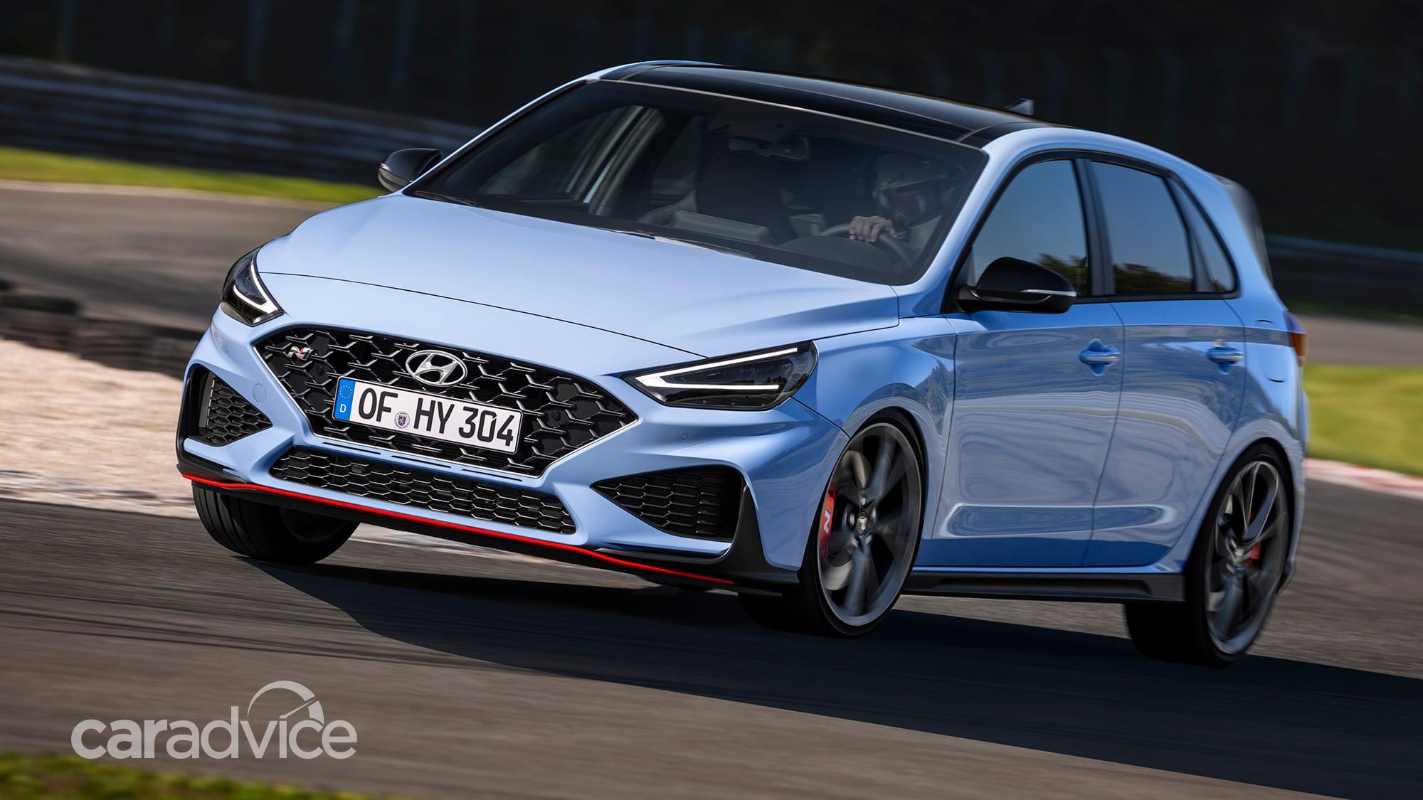 2021 hyundai i30 n: australian specifications revealed