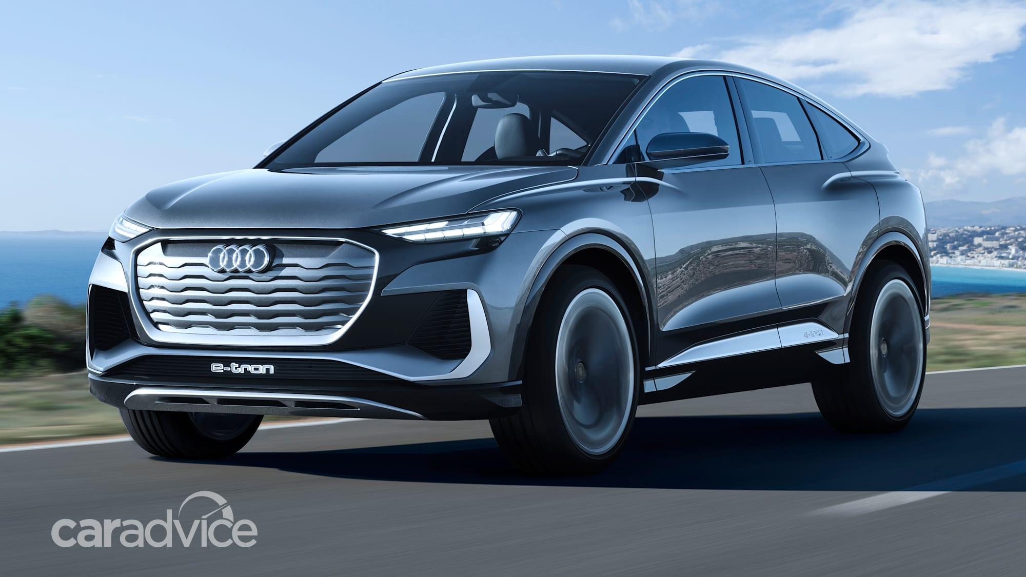 2021 audi q4 sportback etron concept revealed  caradvice