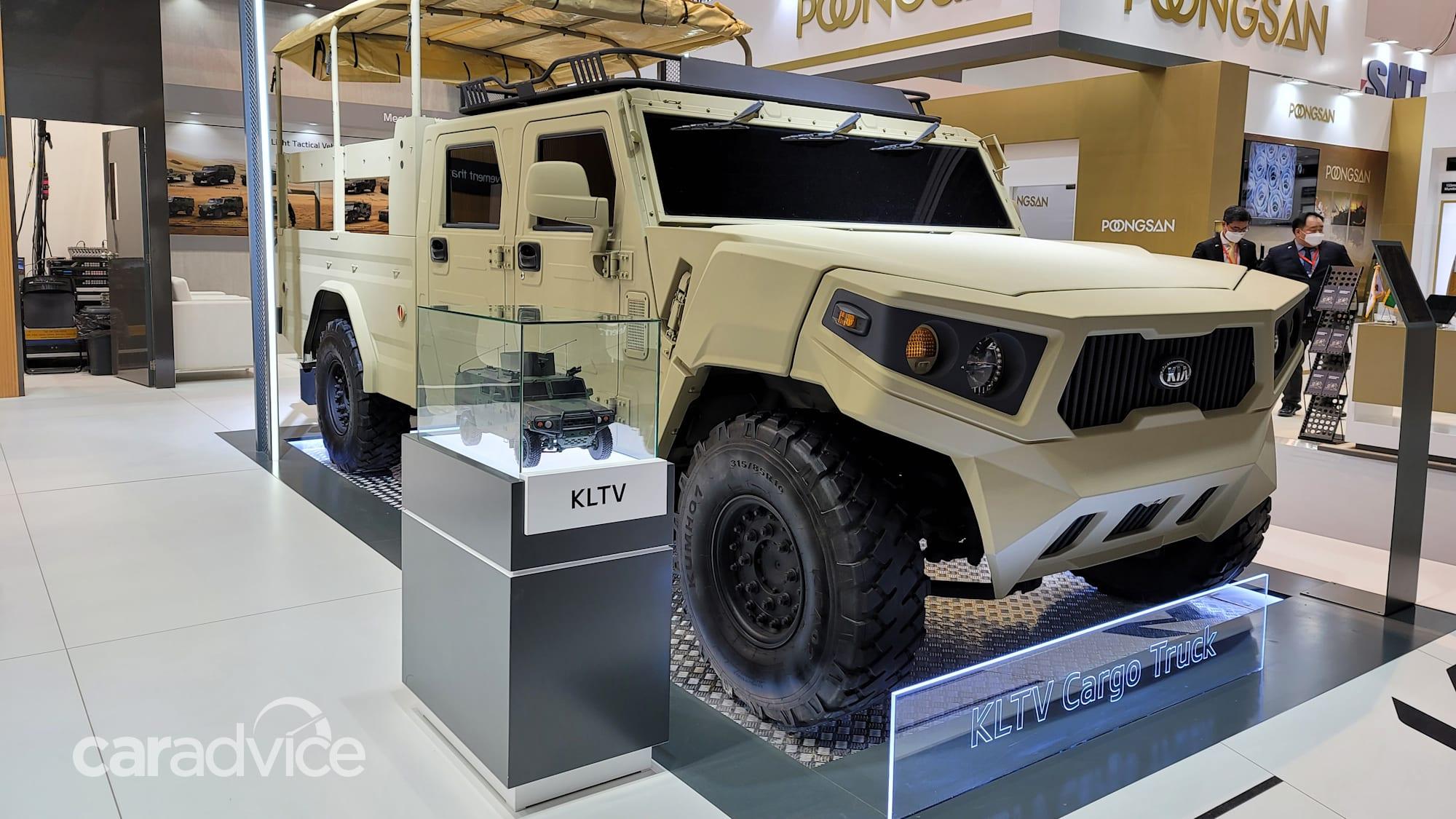 Конкурент Kia Hummer: обнародован военный концепт легкого тактического грузовика - 1 из 2