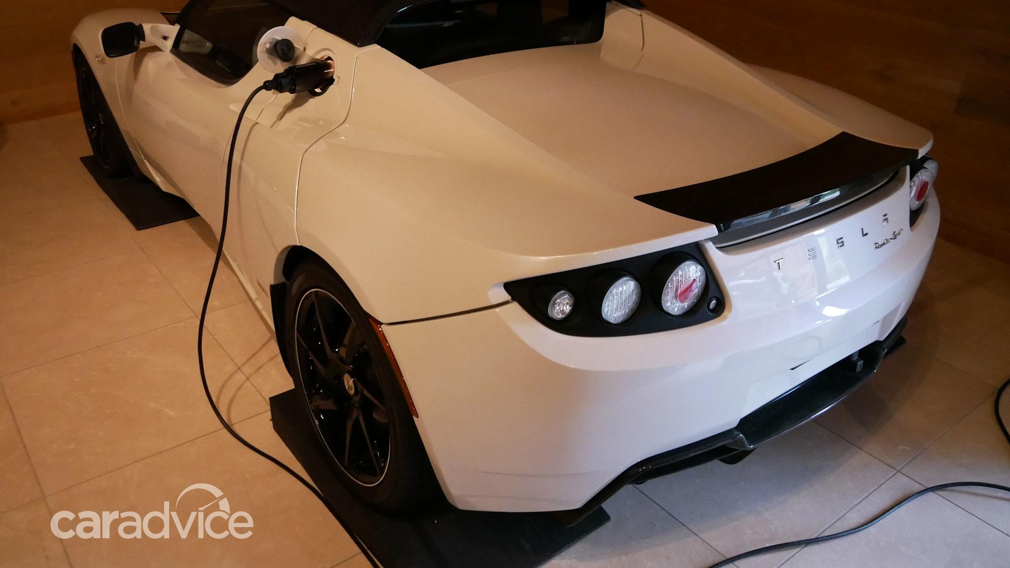 Last Tesla Roadster ever built listed for more than $2 ...