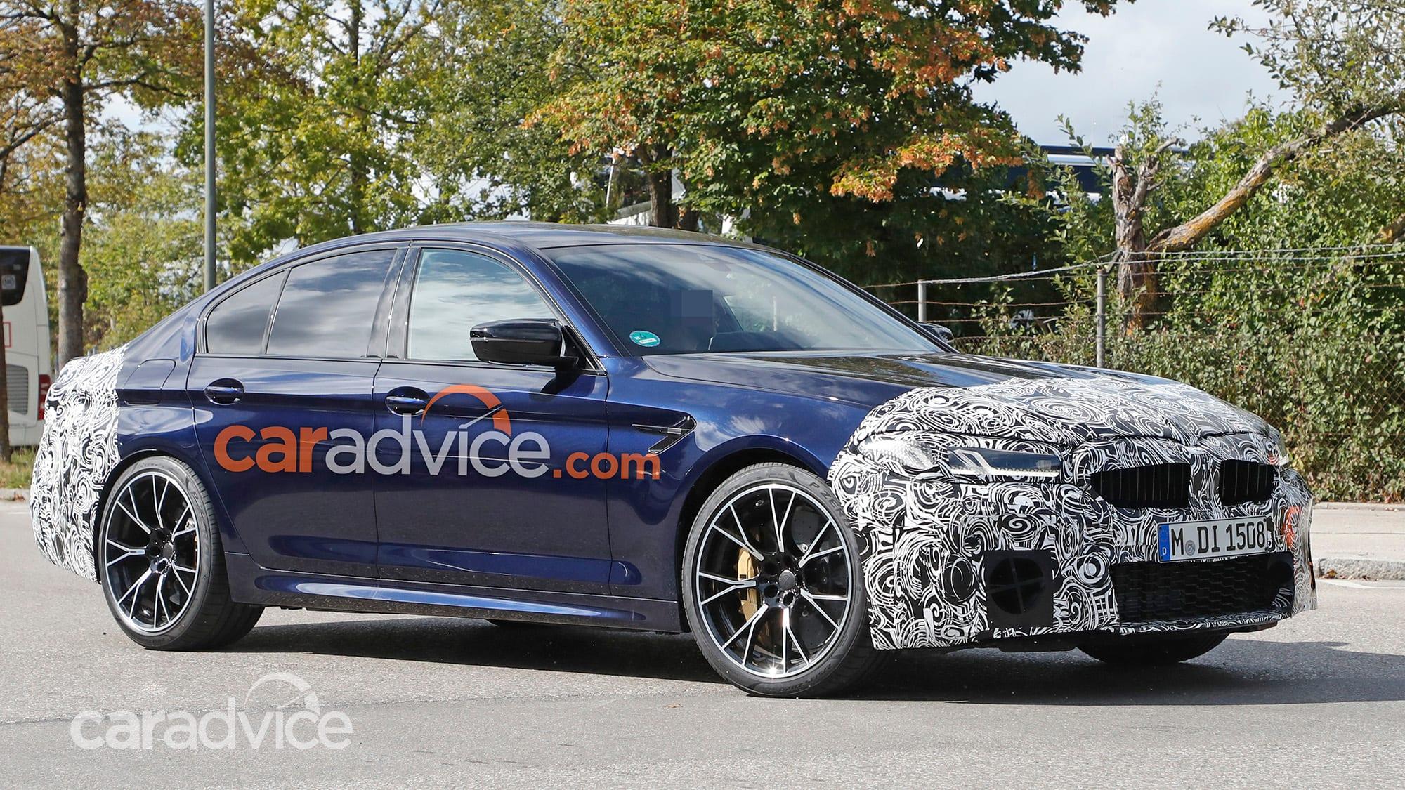 2021 BMW M5 spied | CarAdvice