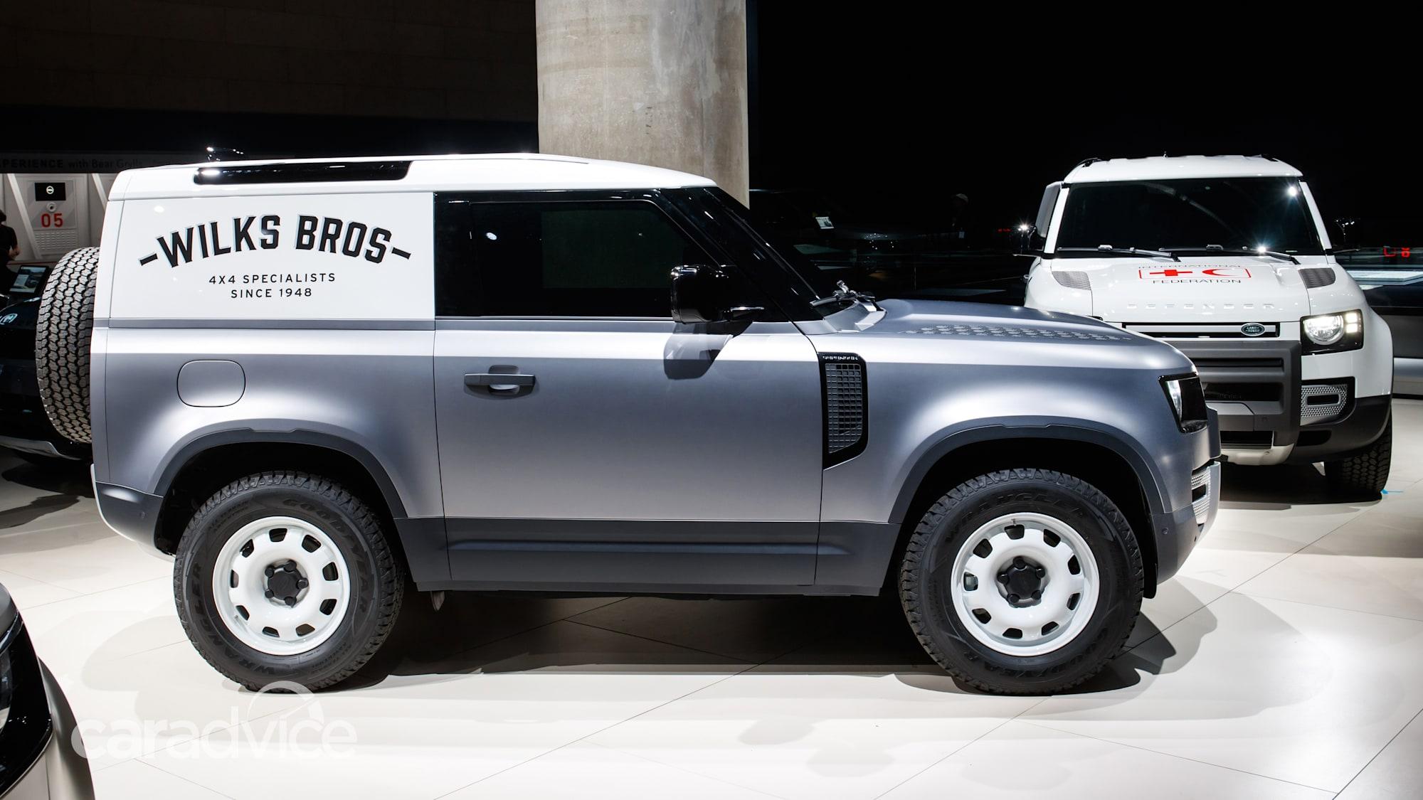 2021 Land Rover Defender Hard Top revealed | CarAdvice