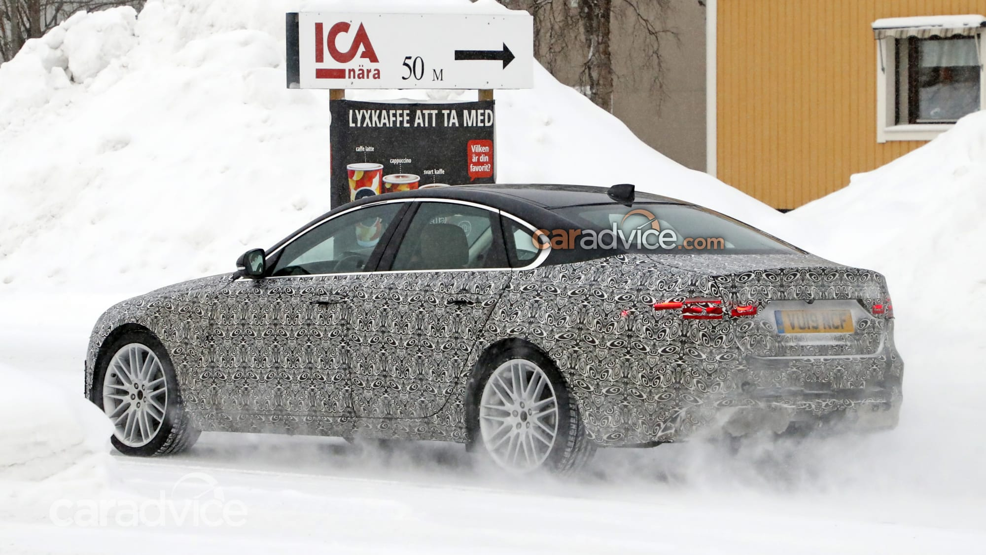 2021 jaguar xf spied  caradvice
