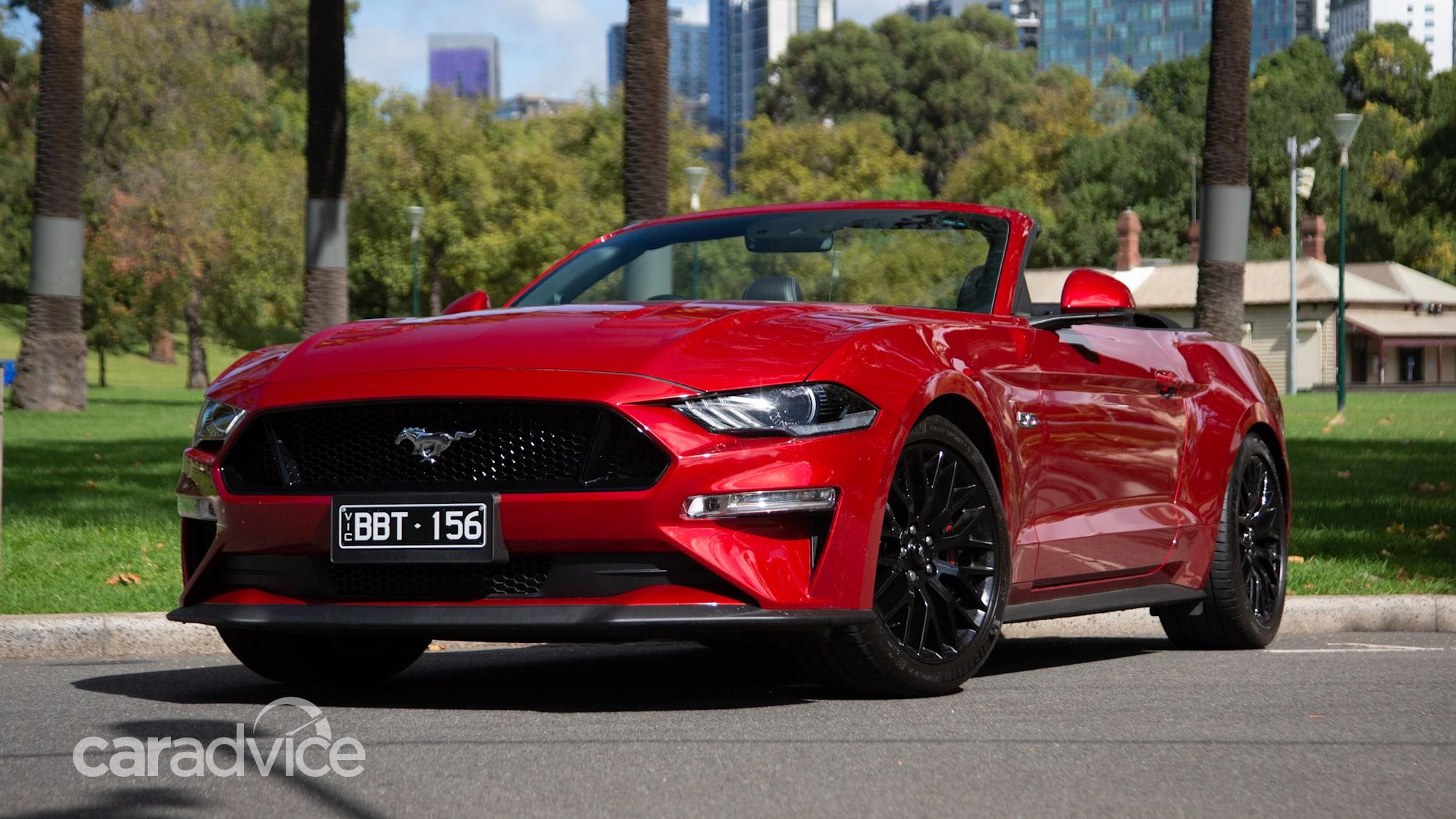 2020 Mustang Convertible Reviews