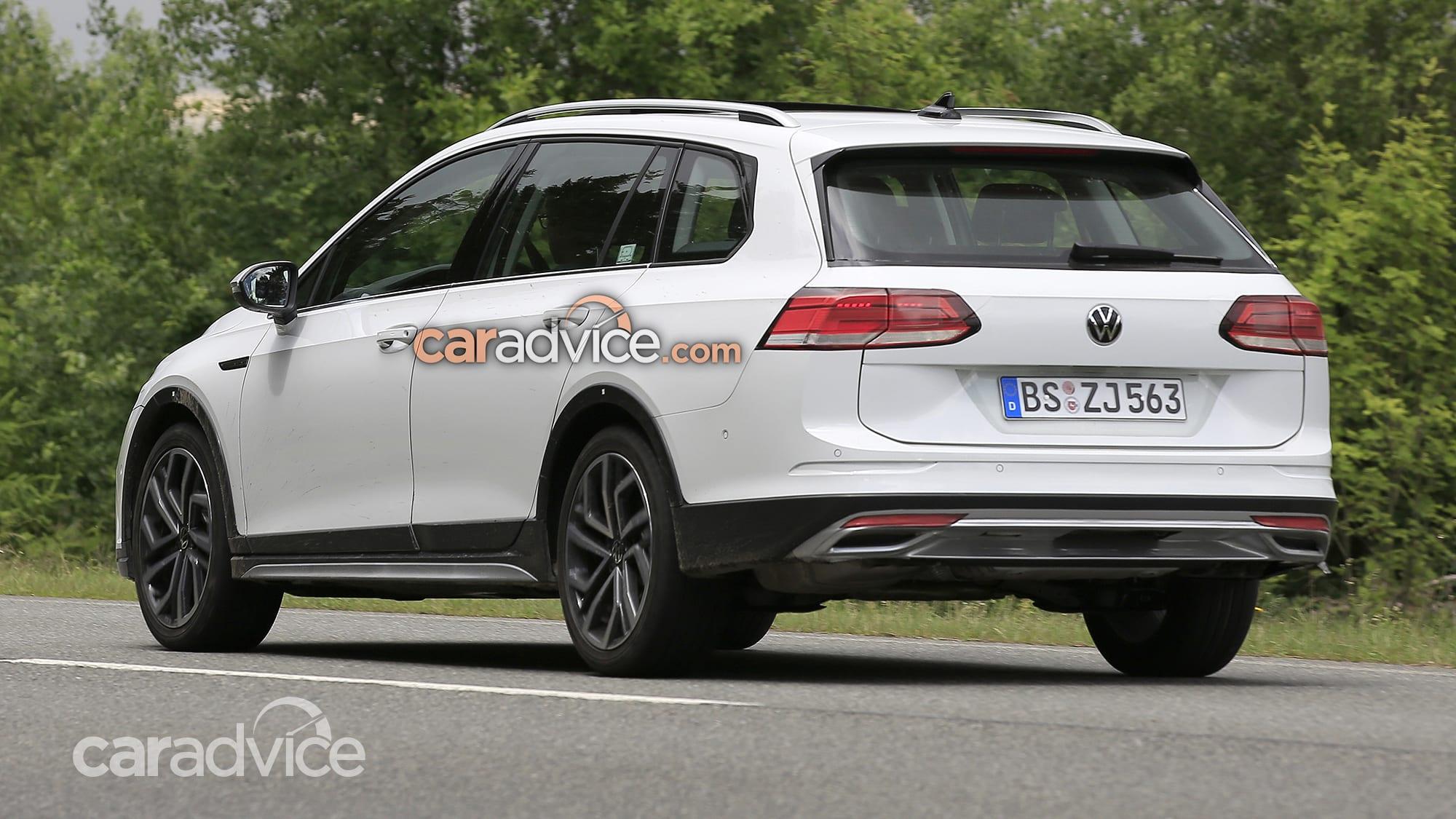 2021 Volkswagen Golf Alltrack, wagon spy photos   CarAdvice