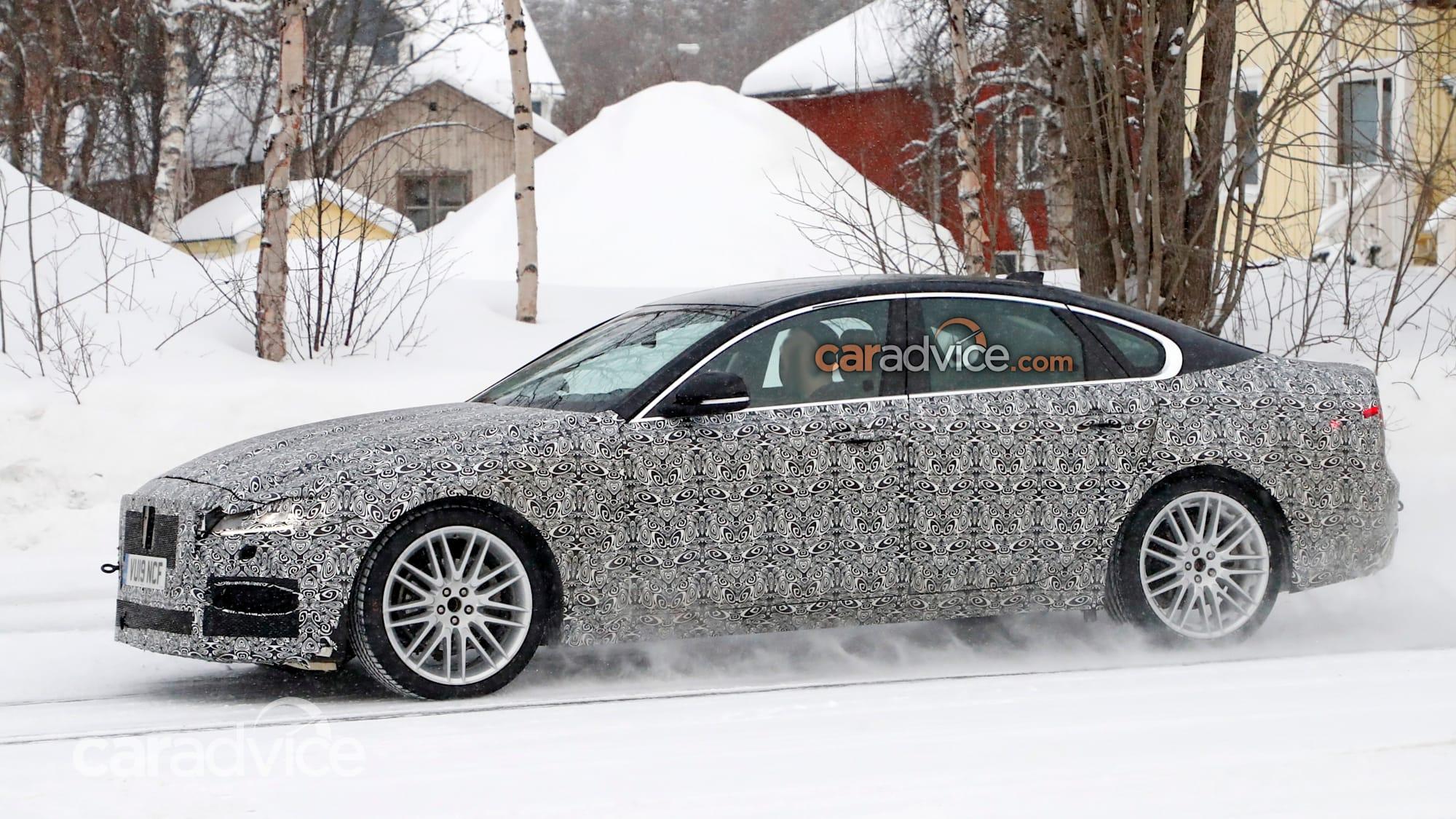 2021 Jaguar XF spied | CarAdvice