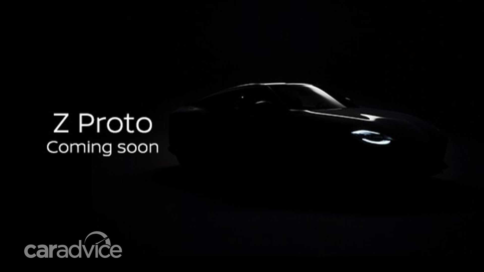 Nissan 400Z: Z Proto teased ahead of September 16 debut ...
