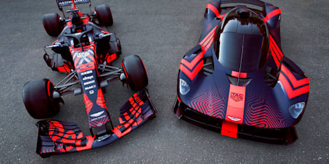 Red Bull F1 considering road car to follow Aston Martin Valkyrie