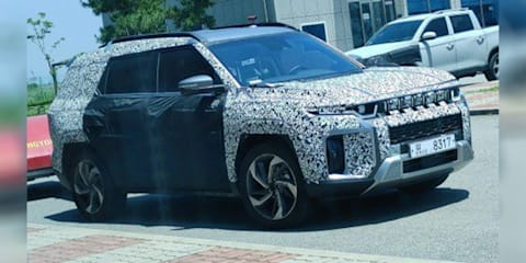 2022 SsangYong 'J100' electric SUV spied testing in South Korea