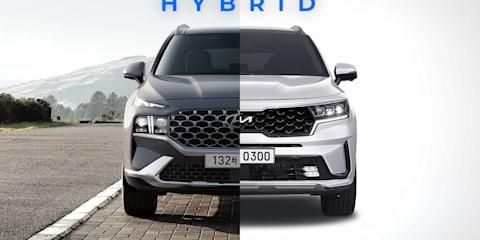 Hyundai Santa Fe Hybrid, Kia Sorento Hybrid delayed to early 2022