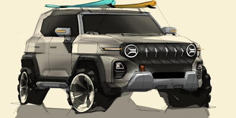2022 SsangYong 'KR10': Korea's Ford Bronco Sport rival teased