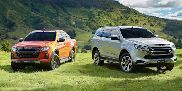 Isuzu D-Max ute and MU-X 4WD could get hybrid option, more power