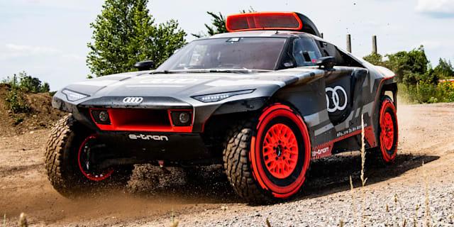 Audi RS Q E-Tron: Range-extender hybrid Dakar Rally challenger revealed