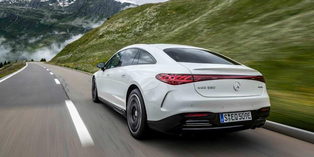 2021 Mercedes-Benz EQS review