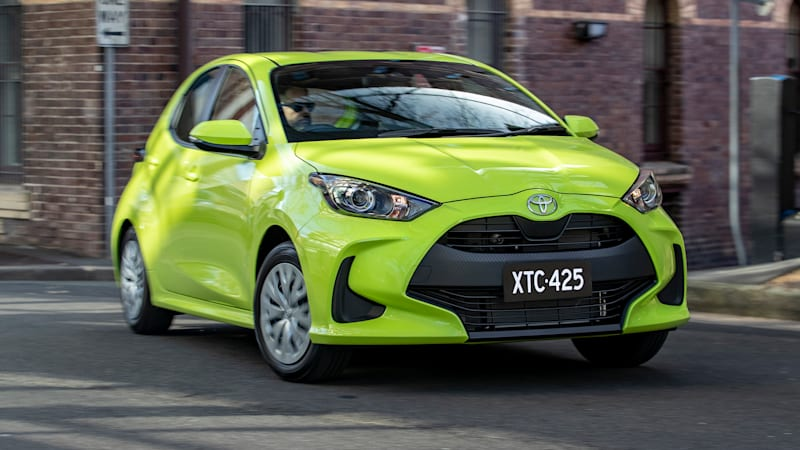 Toyota Yaris manual axed in Australia; GR Yaris flagship safe
