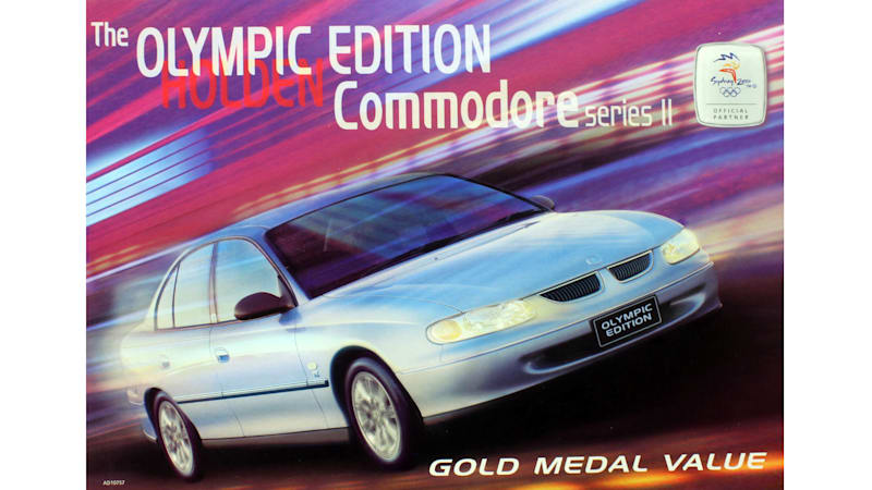 A short history of Aussie Olympic cars