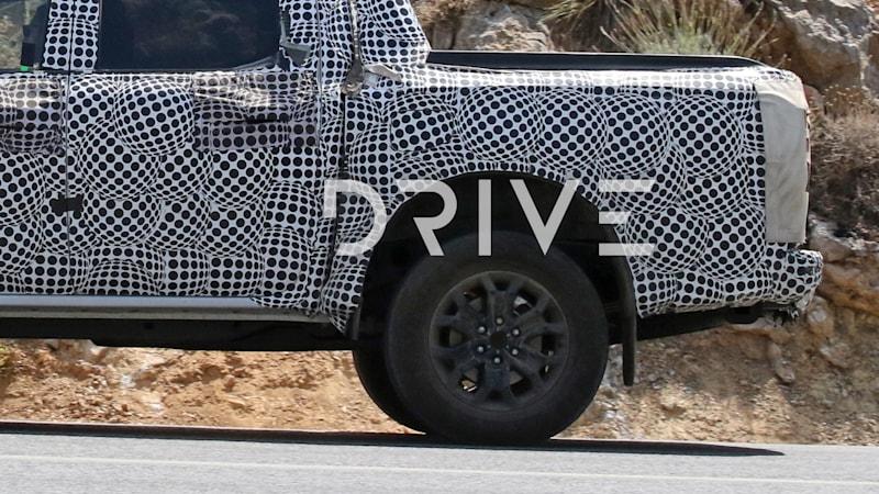 2022 Ford Ranger to get four-wheel disc brakes, spy photos reveal