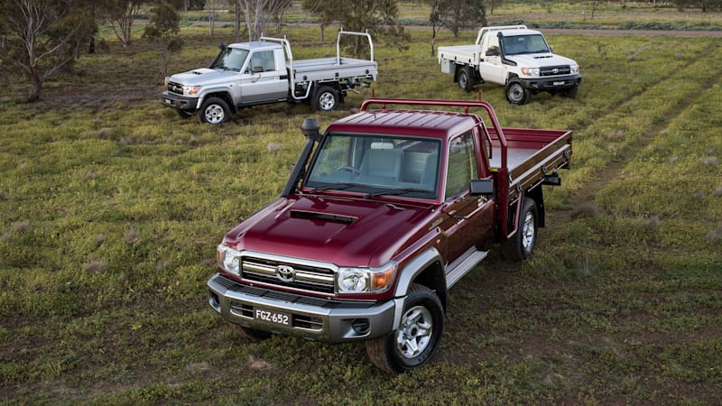 Toyota LandCruiser celebrates 70th anniversary with a special edition and no photos of it